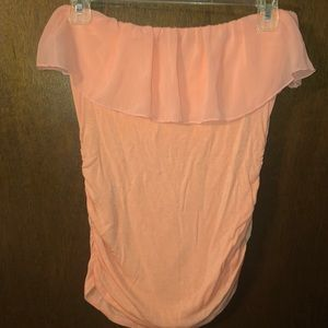 Charlotte Russe Strapless Bodycon shirt